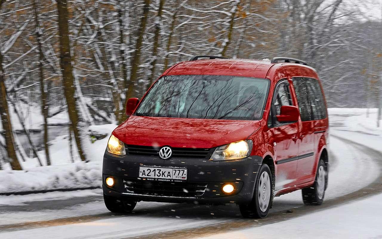 VW Caddy Maxi после 145 000 км: замена сцепления и другие проблемы — фото 1093468