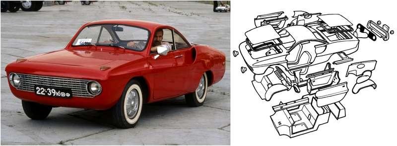 Автомобили-самоделки изСССР: приход стеклопластика