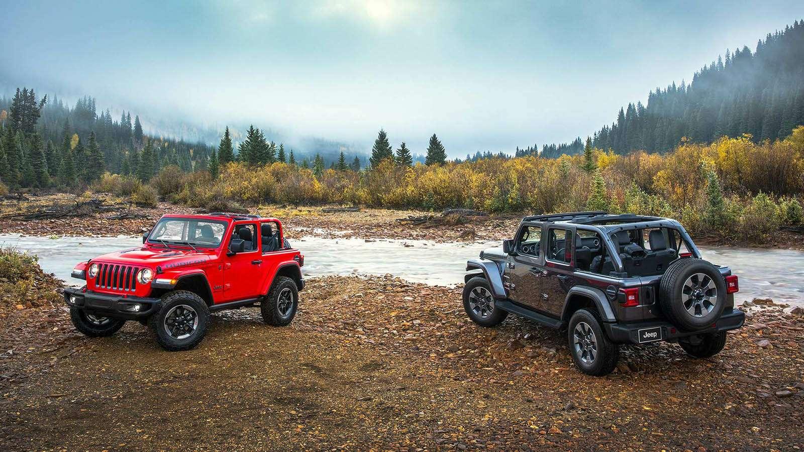 Новый Jeep Wrangler: найди десять отличий— фото 821260