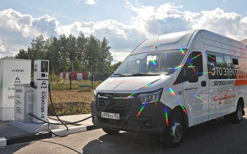 Электрическая ГАЗель уже возит пассажиров