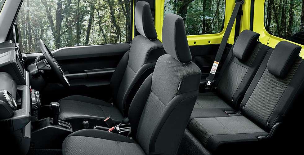 Новый Suzuki Jimny: объявлены технические характеристики— фото 884453