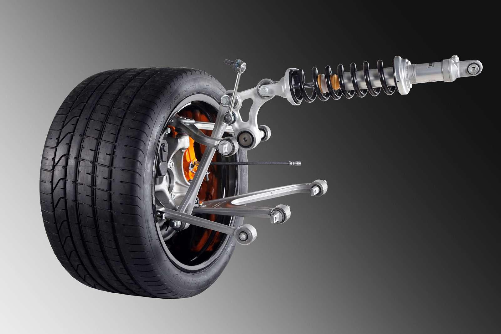 Murcielago successor suspension 1