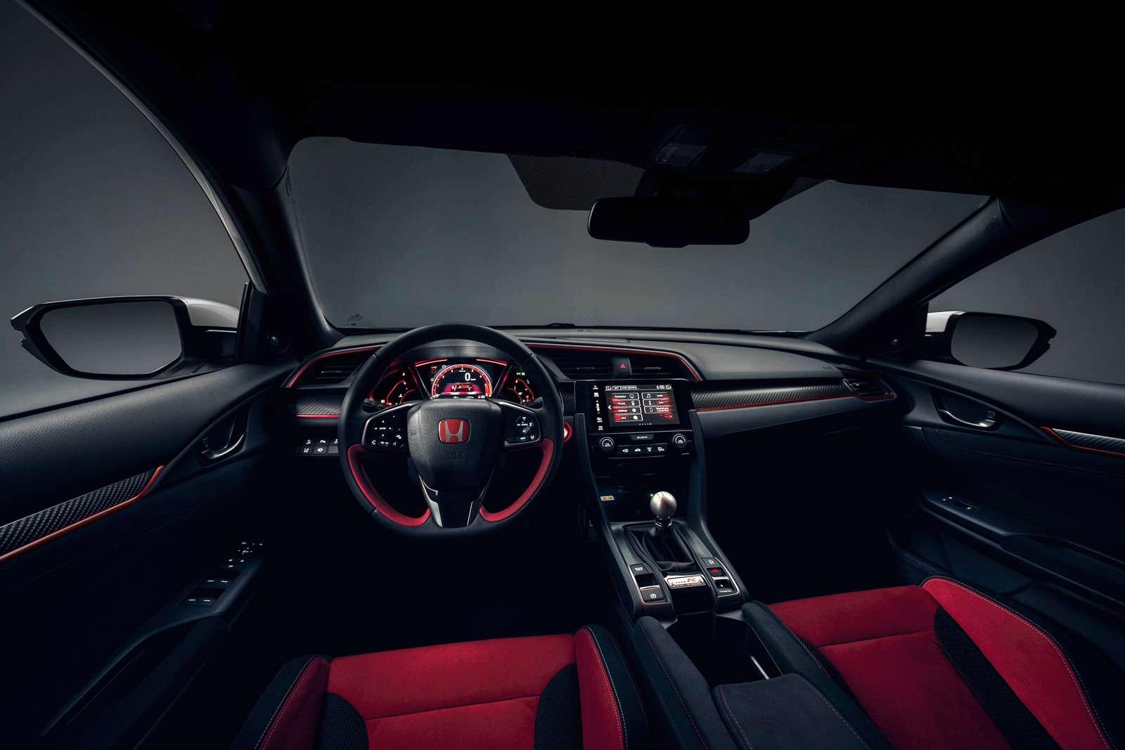 «Топор» стал еще острее: Honda показала серийный Civic Type R— фото 717350