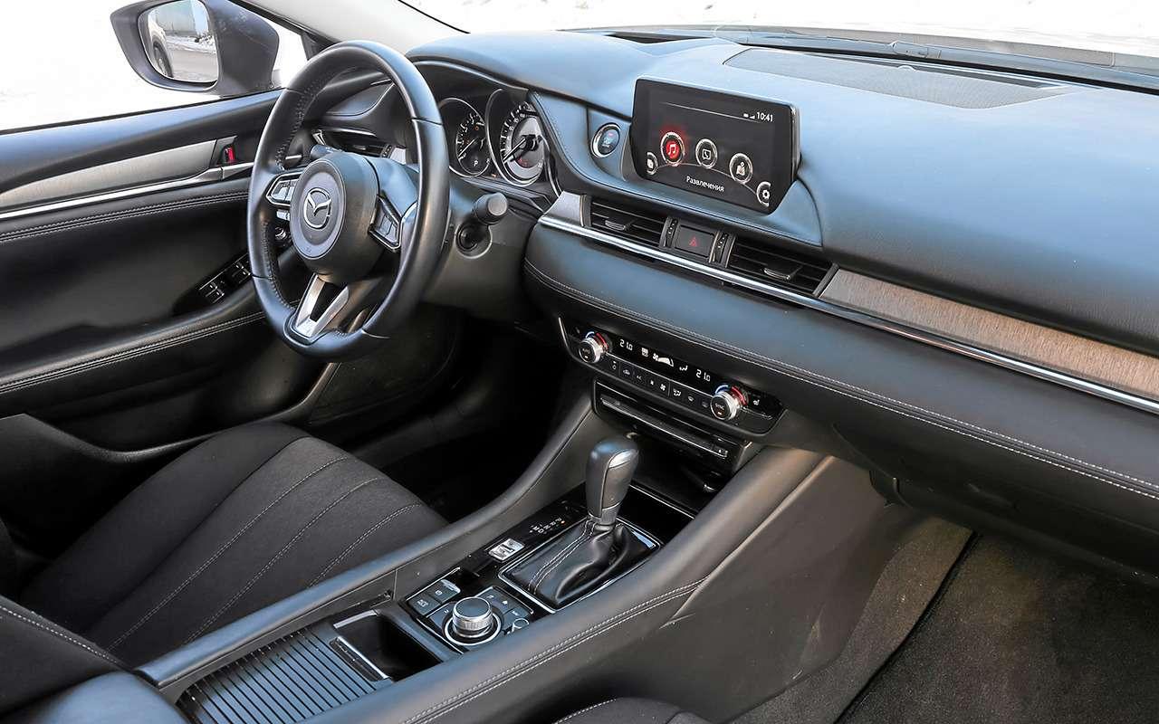 Skoda Octavia, Kia K5, Mazda 6— большой тест— фото 1221378