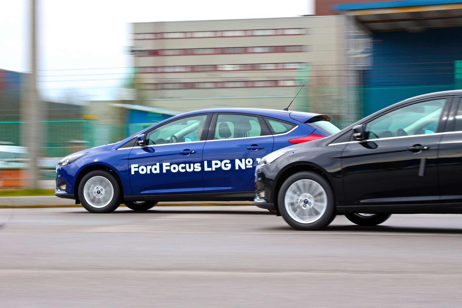 Тест Ford Focus LPG: экономим спропан-бутаном— фото 603373