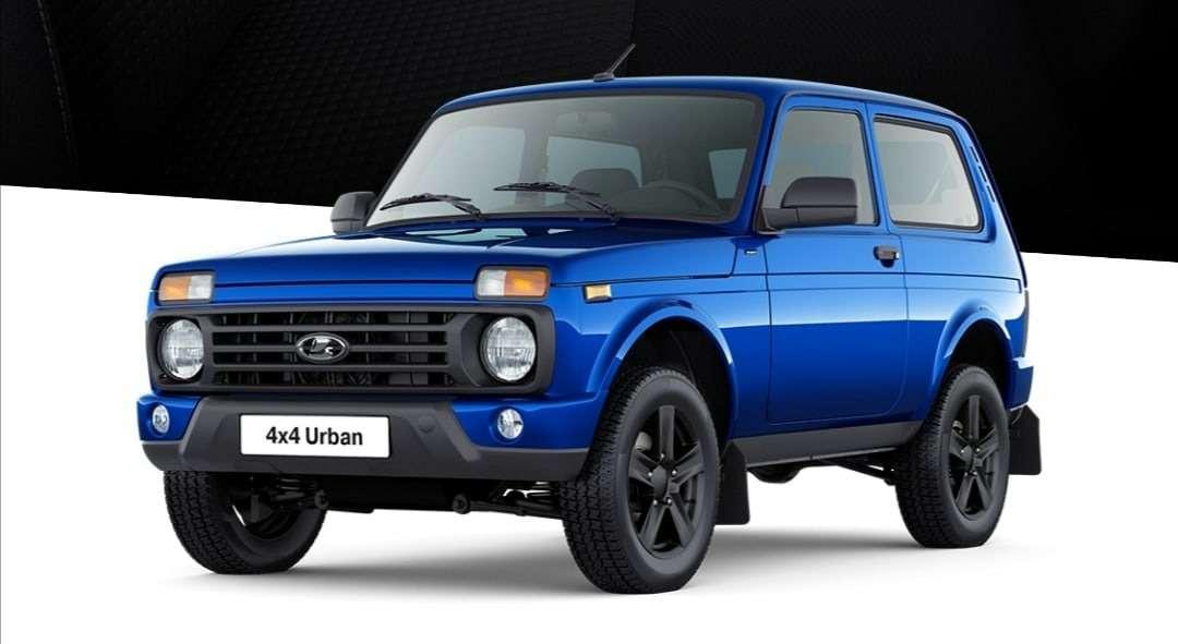 Lada 4x4 Urban Black: фото ивсе расцветки— фото 1195227