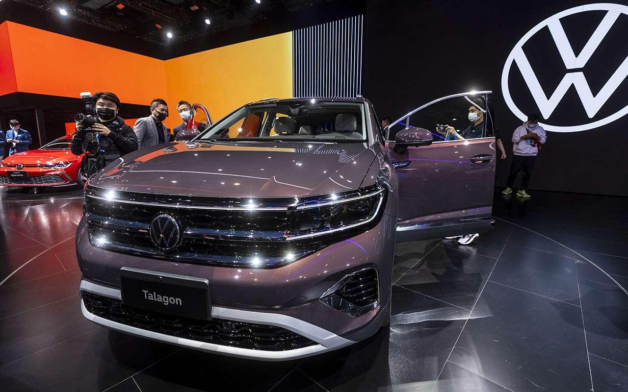 Volkswagen представил гигантский кроссовер Talagon— фото 1241315