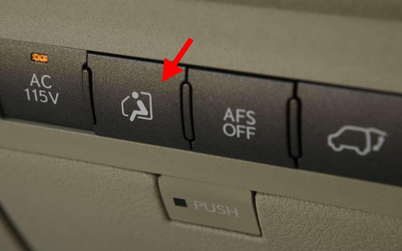 14непонятных кнопок вавтомобиле. Вызнаете, зачем они?— фото 1089117