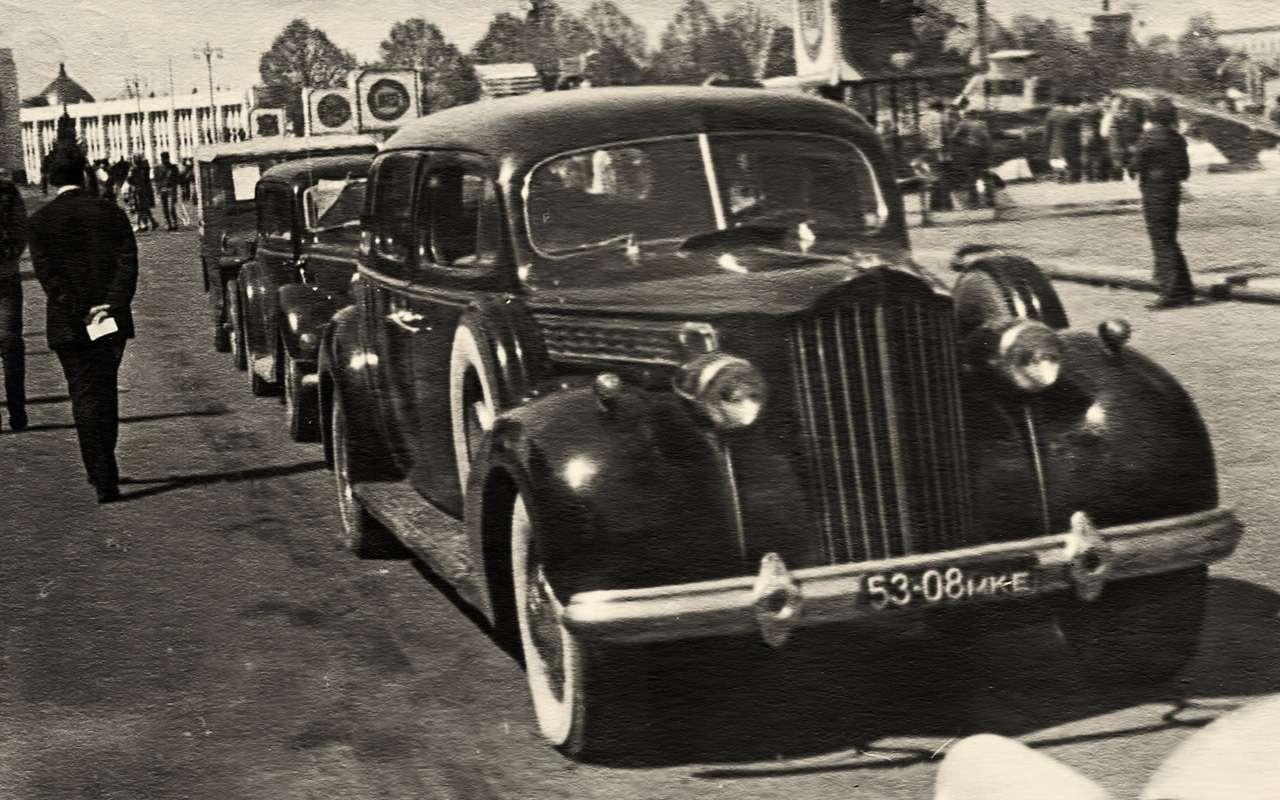 Packard Super Eight 1939: связей сэтим иностранцем можно небояться!— фото 893705