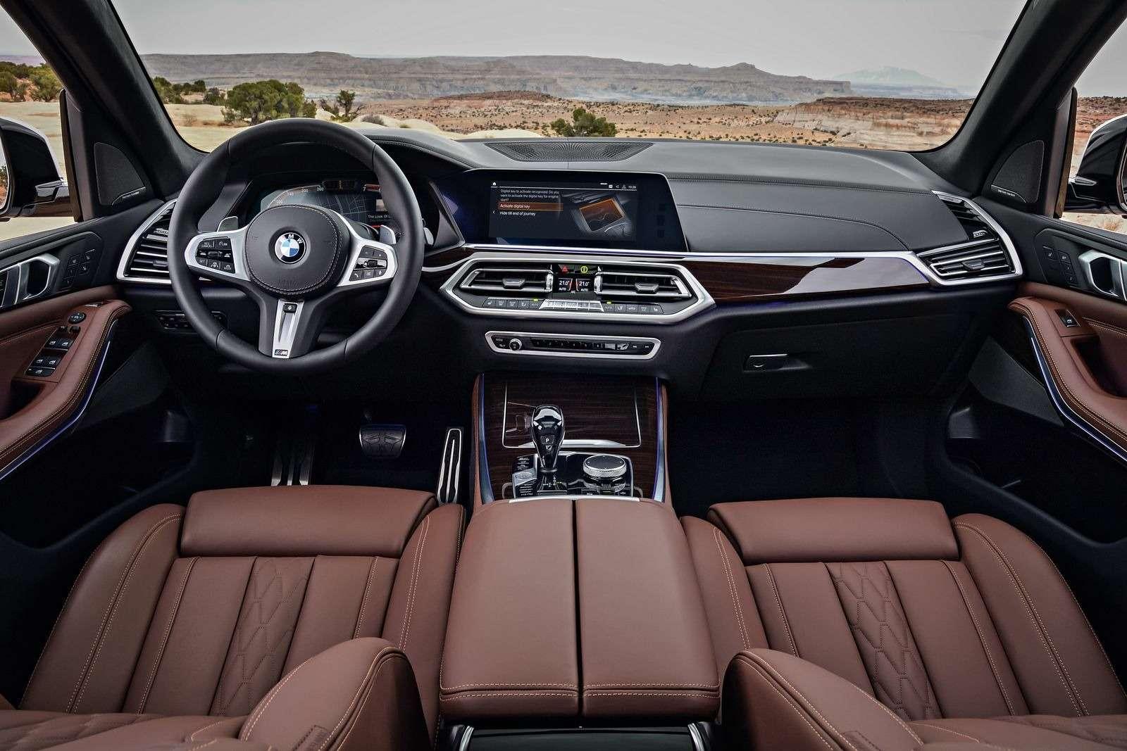 Новый BMW X5: приборная революция!— фото 876651
