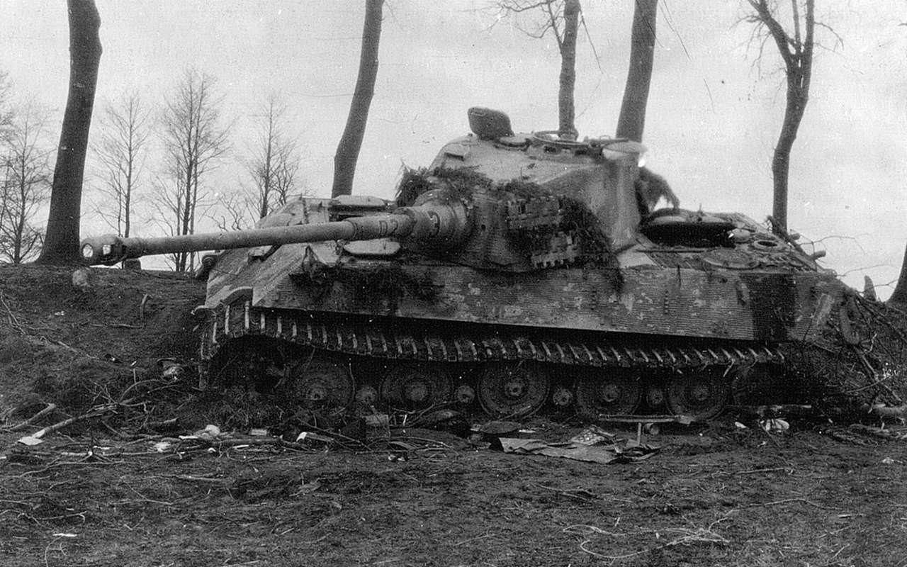 Немецкий «Тигр» против нашего ИС-2— битва технологий— фото 952542