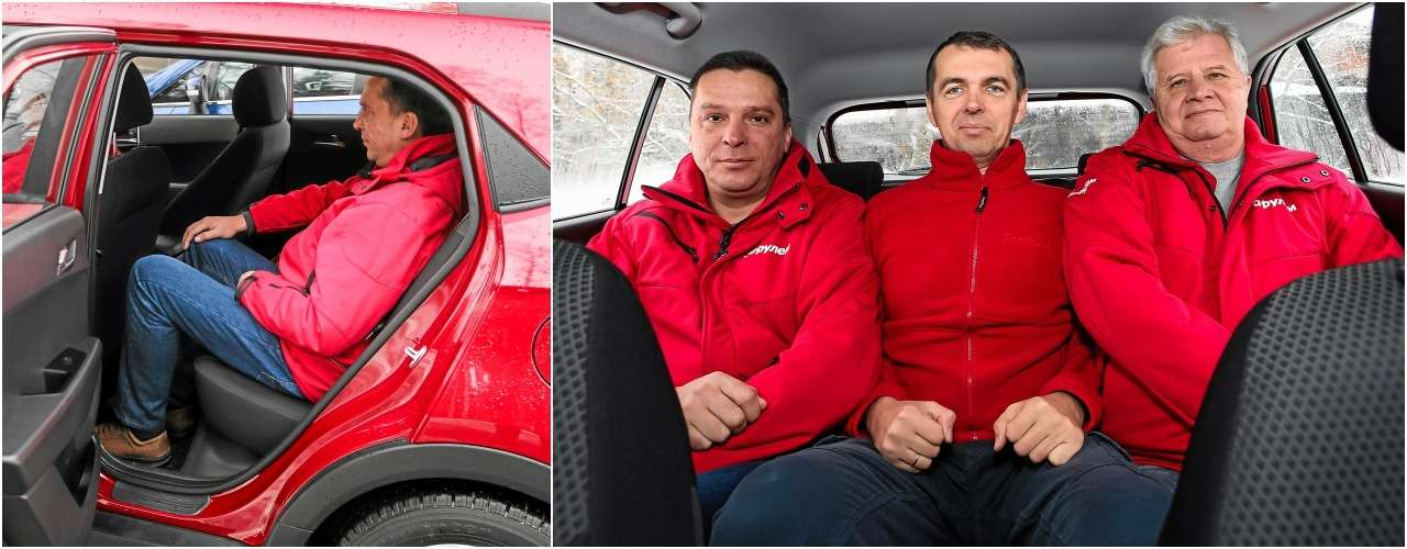 Лада XRAY Cross, Ford Ecosport иCreta: тест кроссоверов— фото 944664