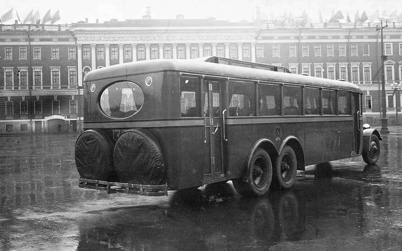 Автобусы изСССР— серийные иэкспериментальные— фото 1035342