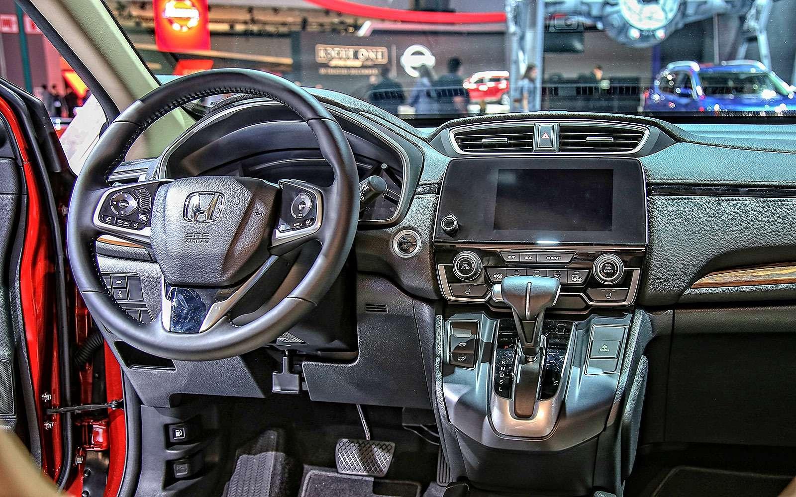 Пятый пошел: Honda представила кроссовер CR-V нового поколения— фото 665127