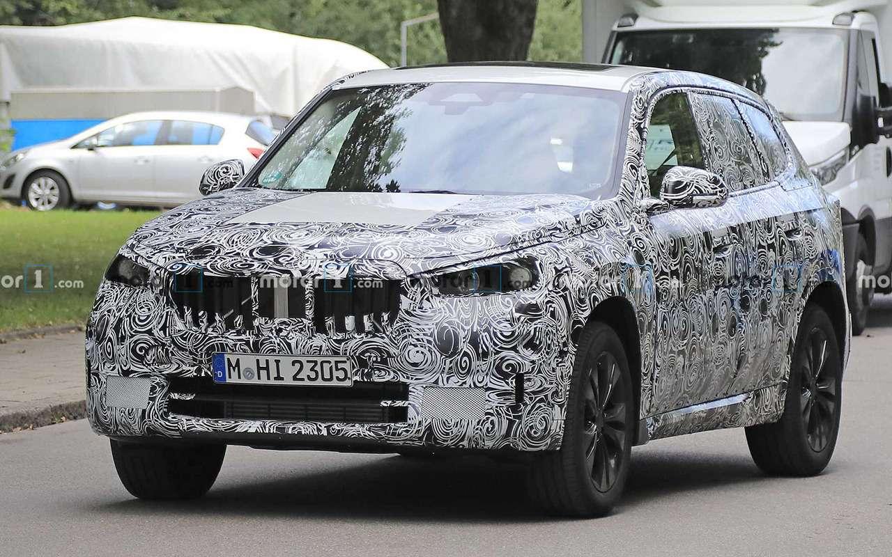 Новый BMW X1: первые шпионские фото - фото 1165564