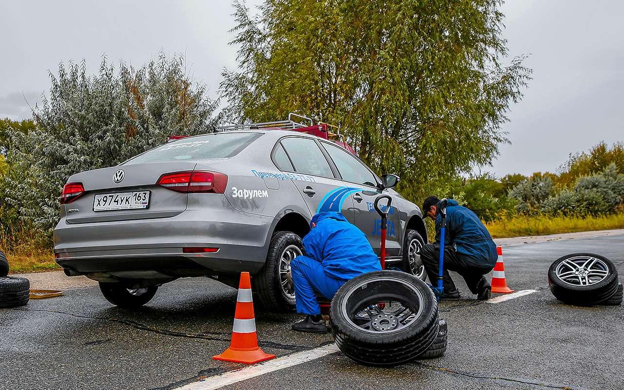 Сцепление и…ударопрочность— как явыбирал шины длябыстрой тачки— фото 1249871