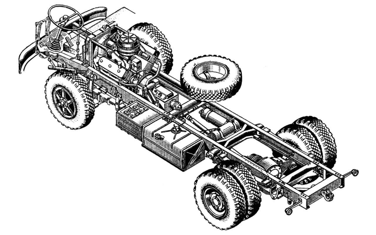 Грузовик застойных времен: как сделали передовой МАЗ‑500— фото 1200605