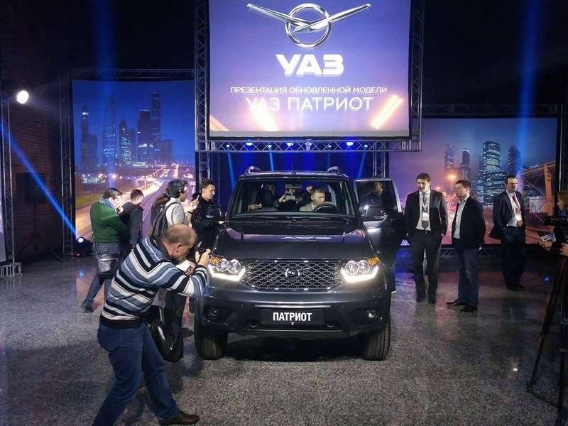 Обновленный УАЗ Патриот нацелился наэкспорт