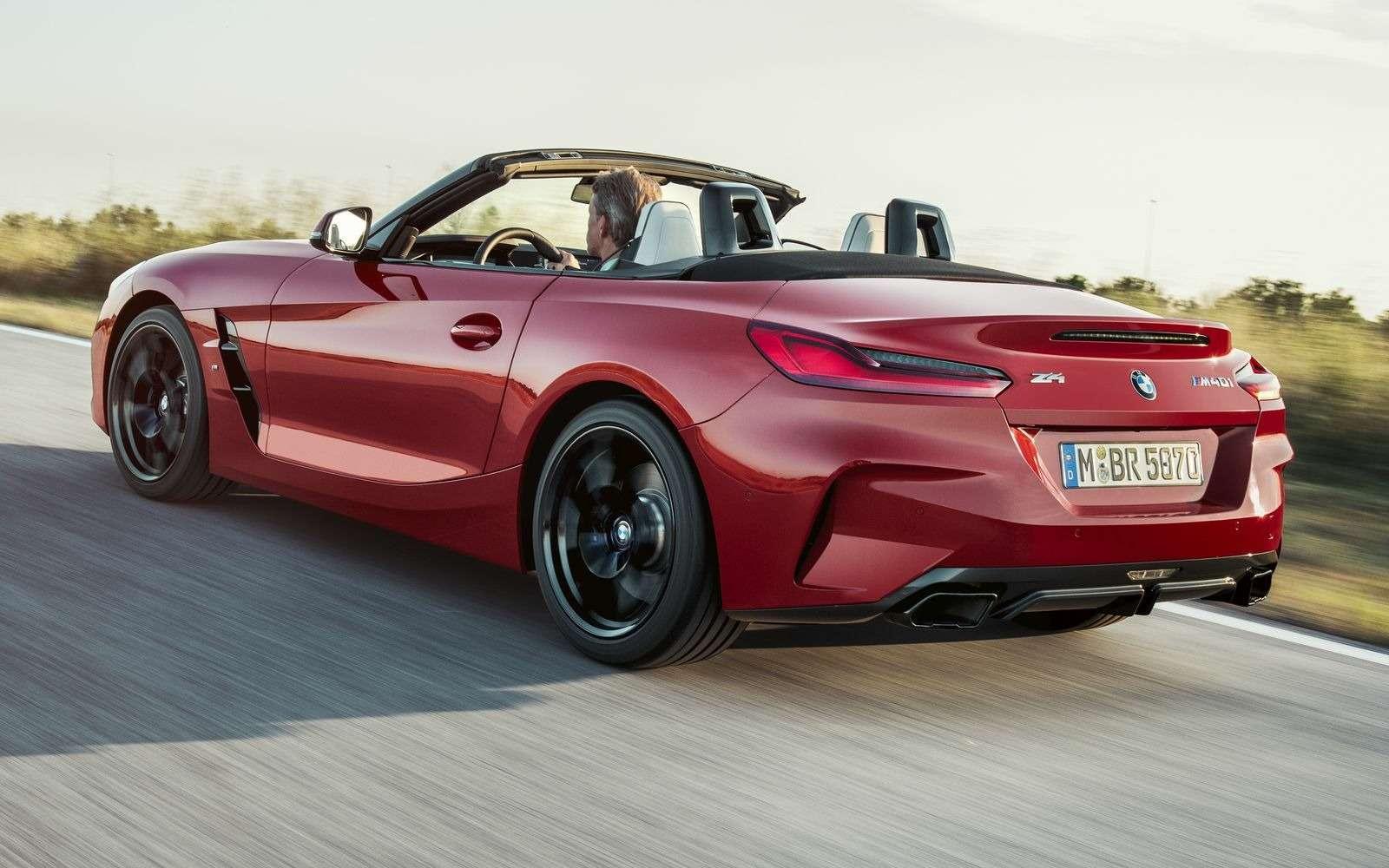 Новый родстер BMW Z4представлен официально— фото 898542
