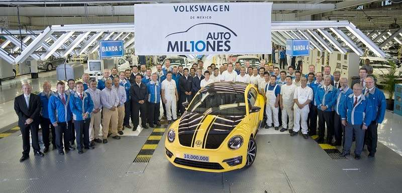 no copyright 10 Million Cars VW Mexico