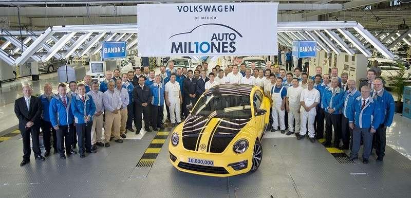 no copyright 10 Million Cars VW Mexico