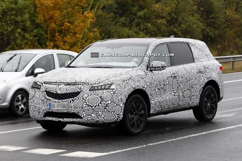 New Acura MDX test prototype side-front view 1_no_copyright