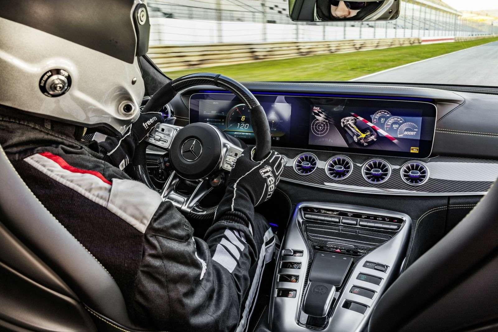 Подмена! Пятидверный Mercedes-AMG GTполучил «тележку» Е-класса— фото 851525