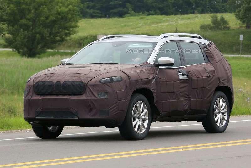 Прототип 2017 Jeep Cherokee