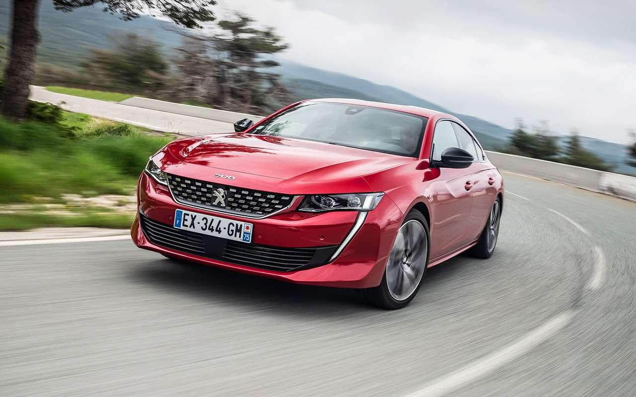 Новый Peugeot 508: онхочет конкурировать снемцами. Ночем?— фото 886337