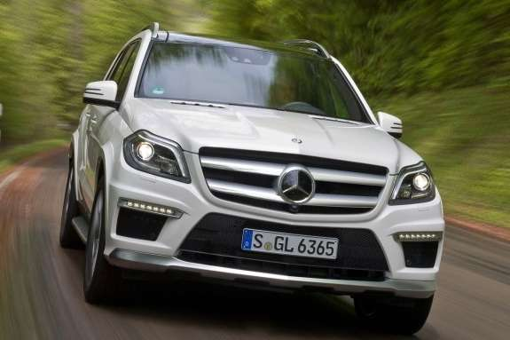 Mercedes-Benz GL63AMG front view