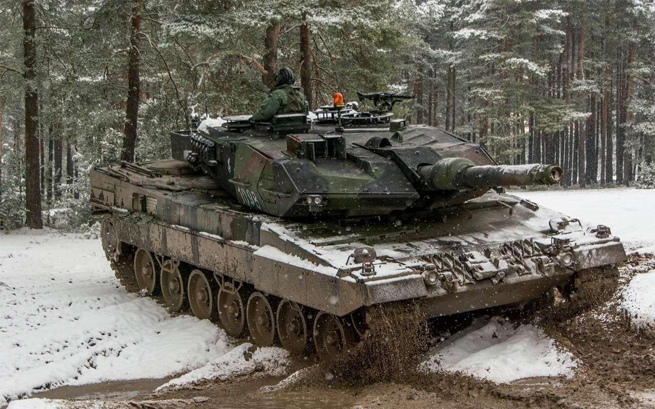 НашТ-72Б3 против немецкого Леопарда-2: пришельцы изпрошлого— фото 864026