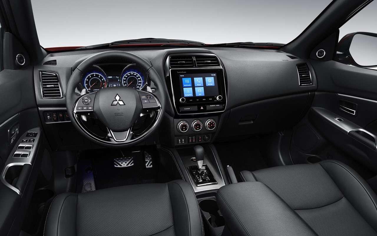 Mitsubishi представит обновленный ASX вЖеневе— фото 948386