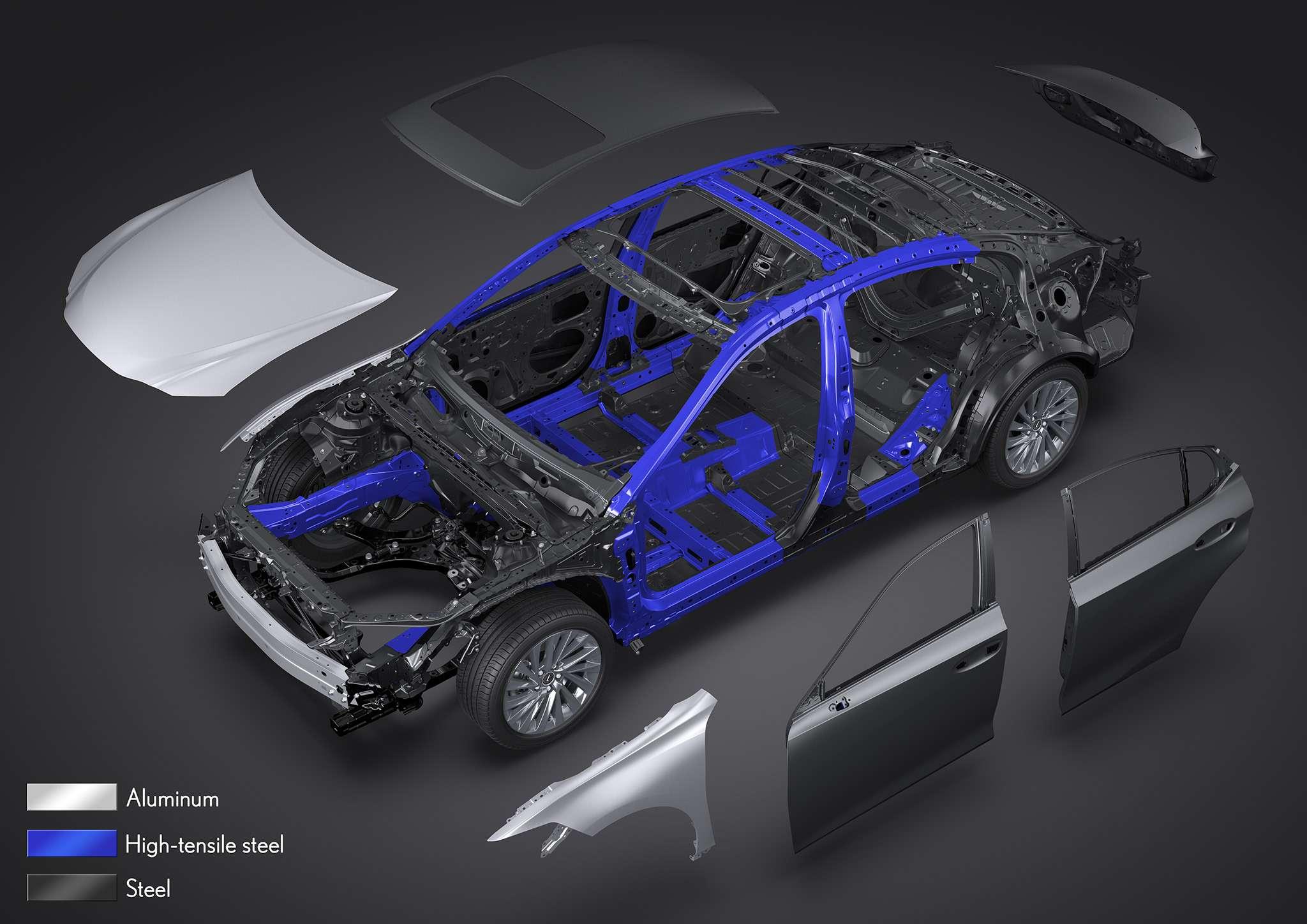 Новый Lexus ES: без полного привода итурбомоторов— фото 865672