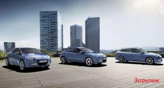 Renault Megane model lineup