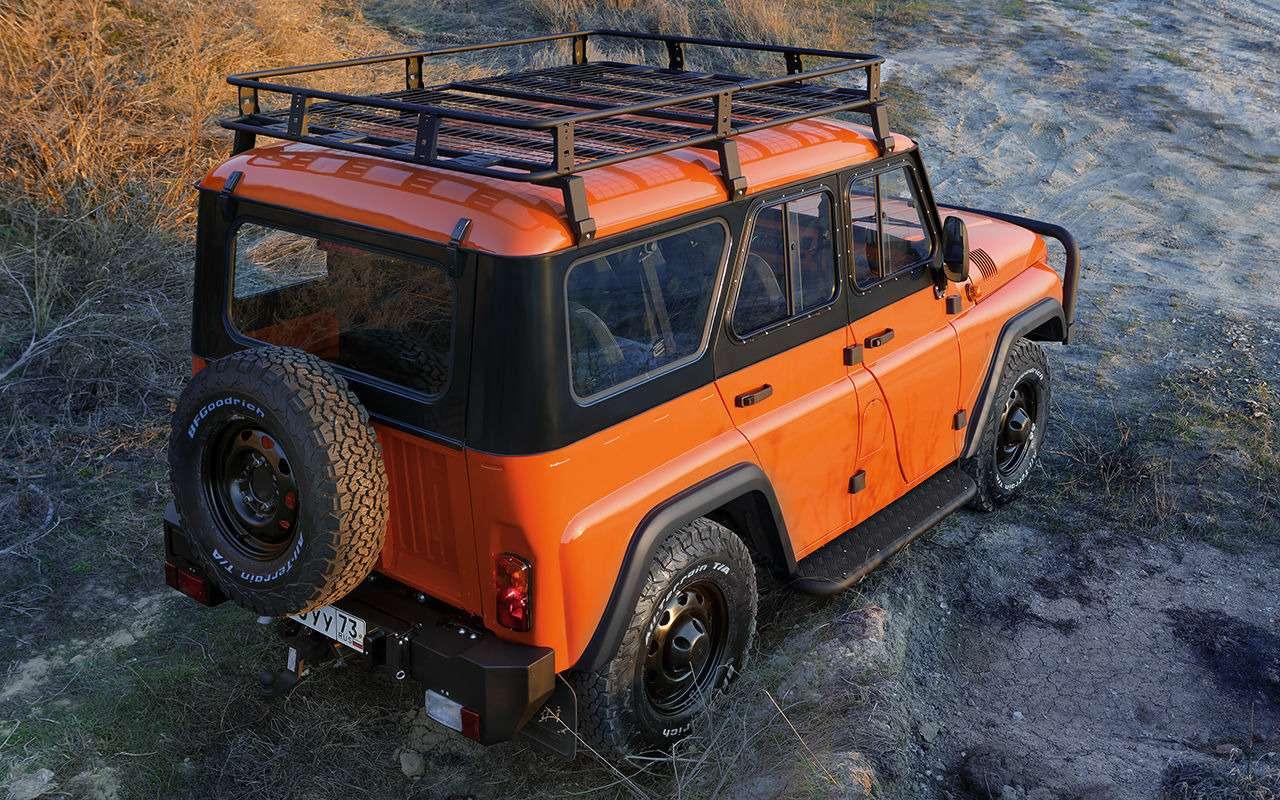 Рыжая «Экспедиция»— стартовали продажи внедорожника УАЗ Хантер— фото 973012