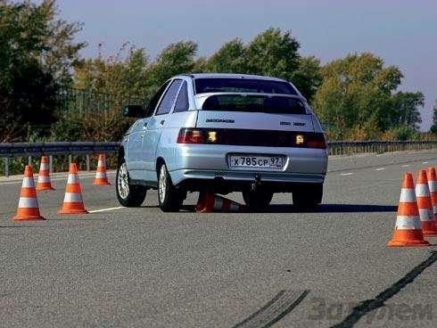 Спецтест. Направленные шины задом наперед: Нетрадиционная ориентация— фото 91104