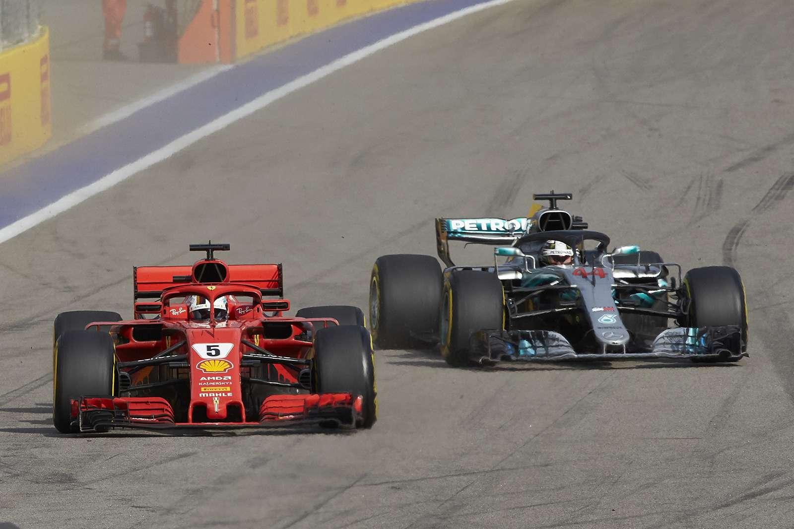 Формула 1: Mercedes освистали наГран-При России— фото 909877
