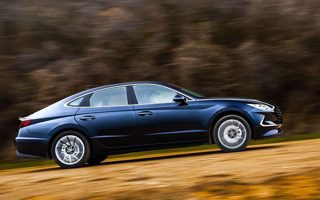 Новая Hyundai Sonata дляРоссии: тест-драйв— фото 1029584