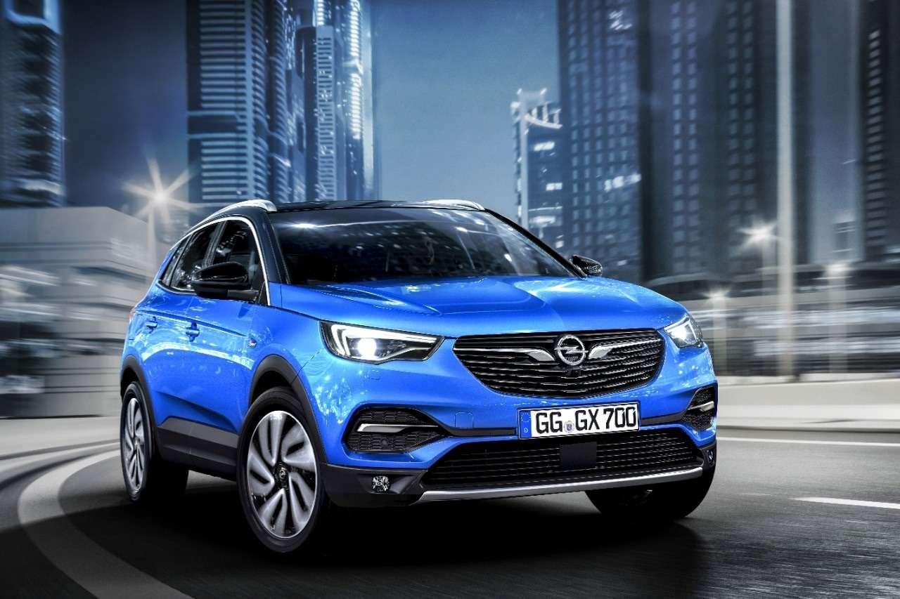 Молнией поТигуану: Opel представил компактный Grandland X— фото 739172