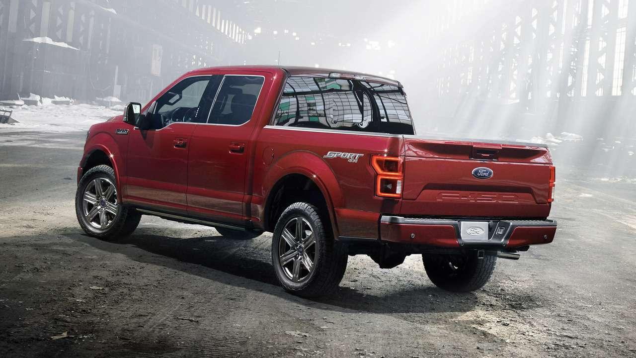 Дизель идесять ступеней: Ford модернизировал пикап F-150— фото 690046