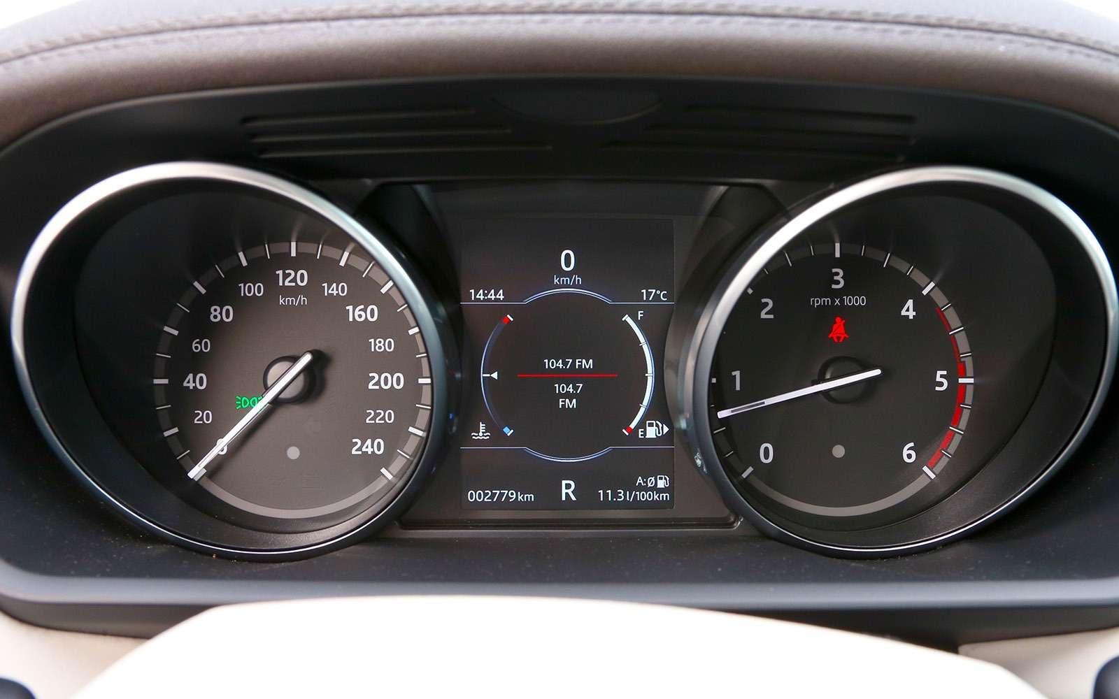 Новый Land Rover Discovery против конкурентов— тест ЗР— фото 784659
