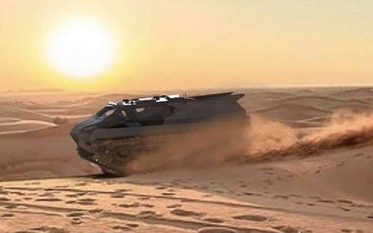 Storm— зловещий танк-амфибия изУкраины— фото 1228332