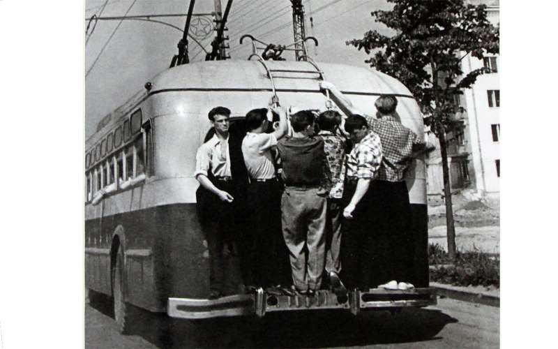 Городской транспорт вСССР