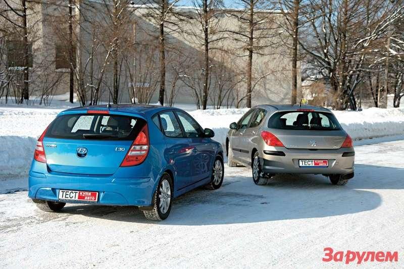«Хёндай-i30», от 555 900 руб. vs «Пежо-308», от 554 000 руб.