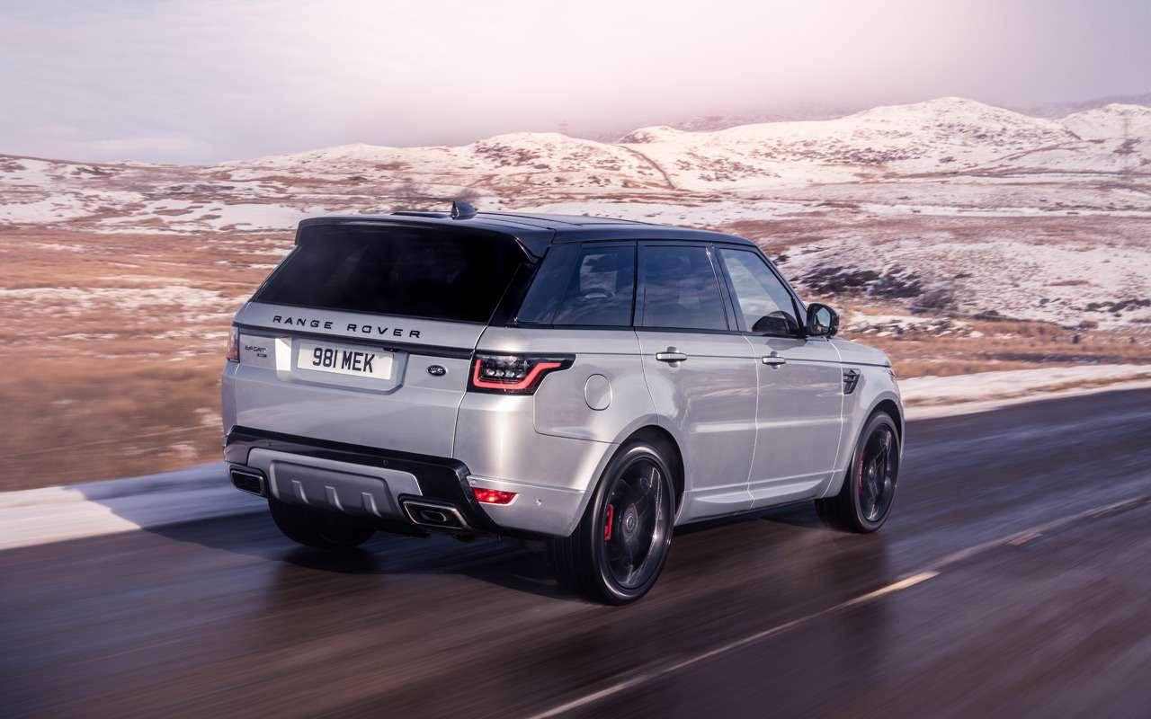 Range Rover Sport получил новую 400-сильную версию— фото 949008