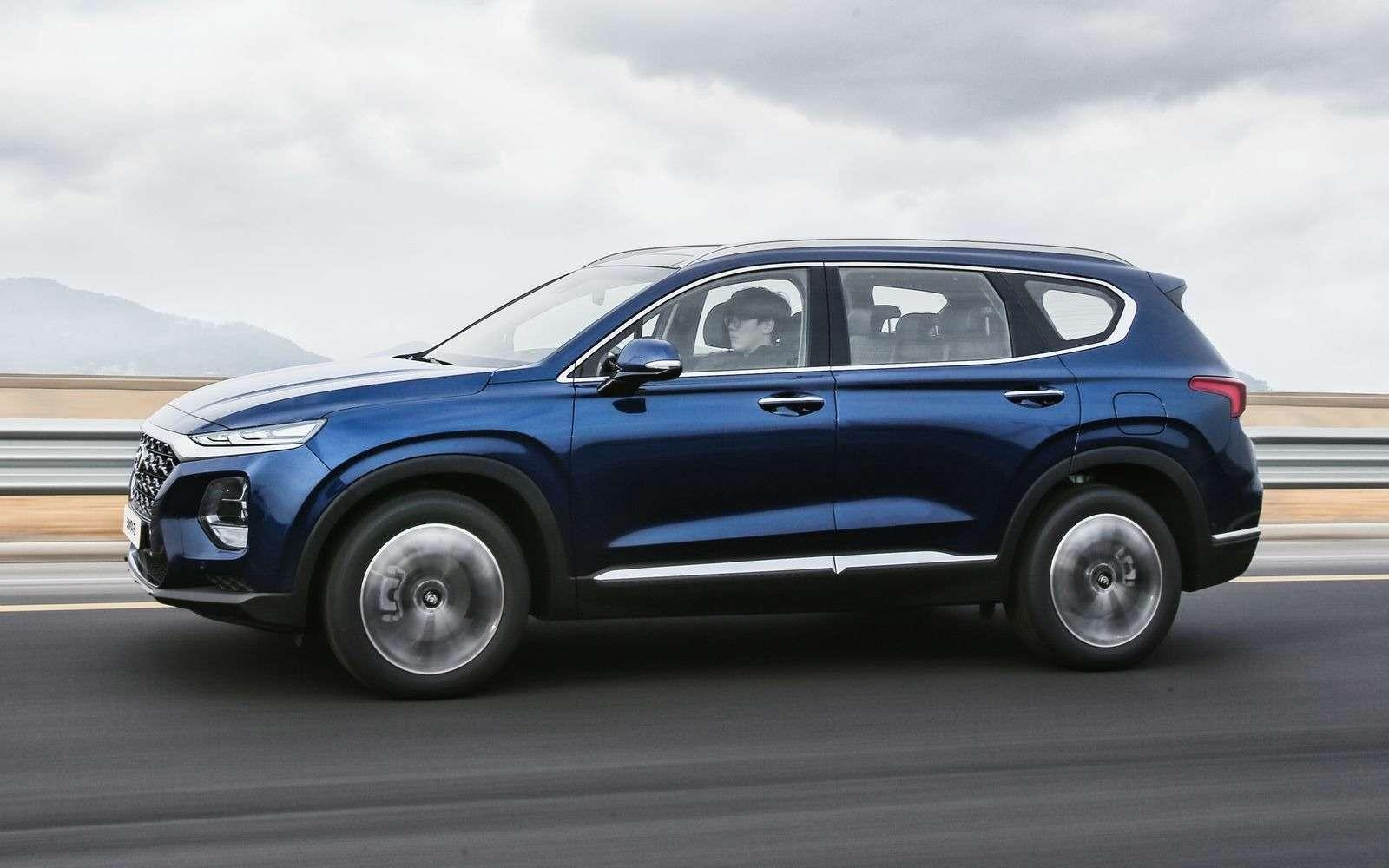 Hyundai рассказала все подробности оSanta Feчетвертого поколения— фото 847642