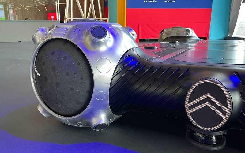 Появились первые сферические шины