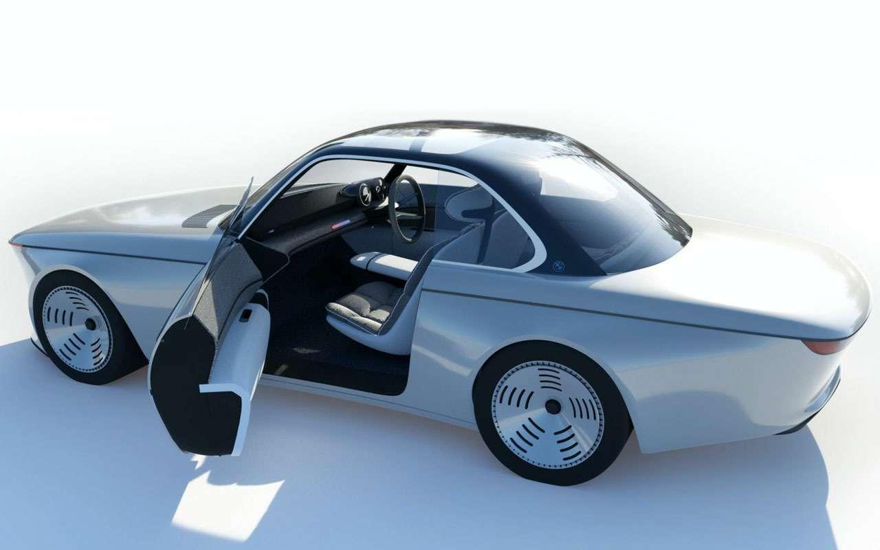 Дизайнер Ford нарисовал BMW будущего. Выглядит странно— фото 1198900