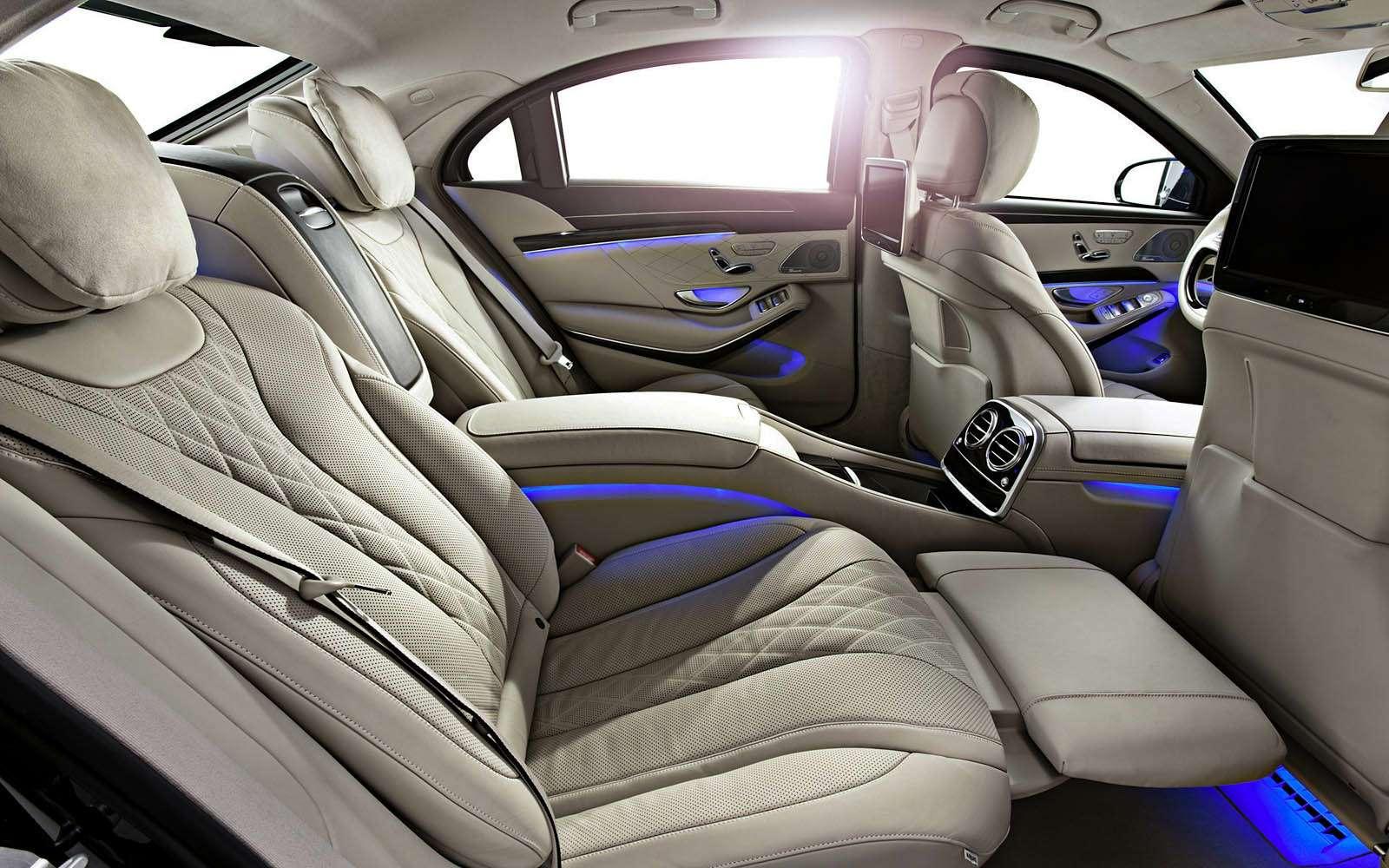 Салон Mercedes-Maybach S600 Guard.