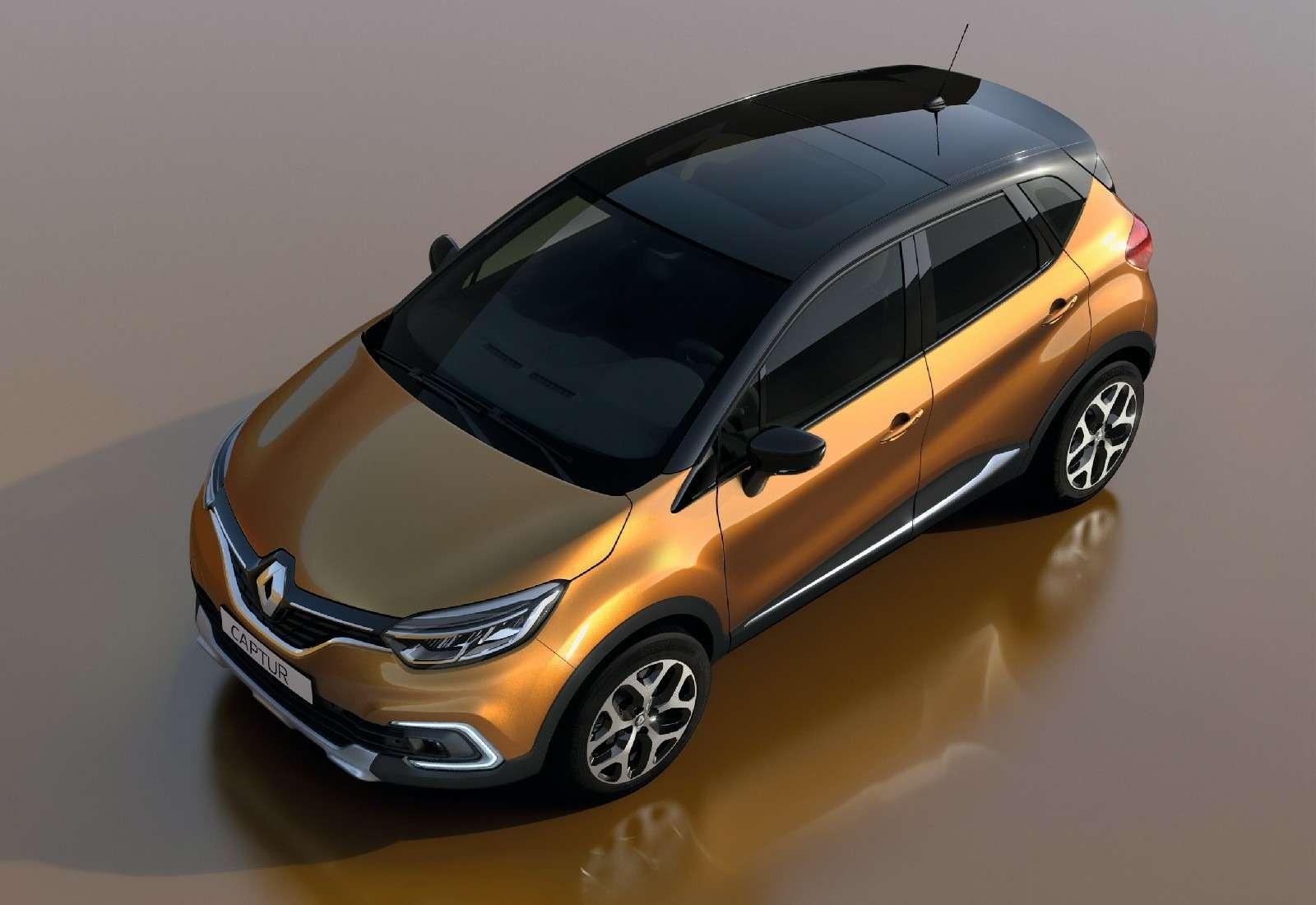 Маломерный Renault Captur пережил рестайлинг— фото 714988